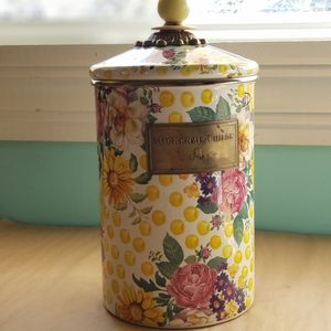 Mackenzie-Childs Buttercup large cannister